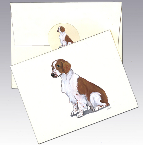 Welsh Springer Spaniel 8 Pack Notecards