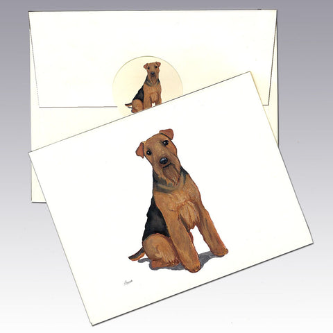Welsh Terrier 8 Pack Notecards