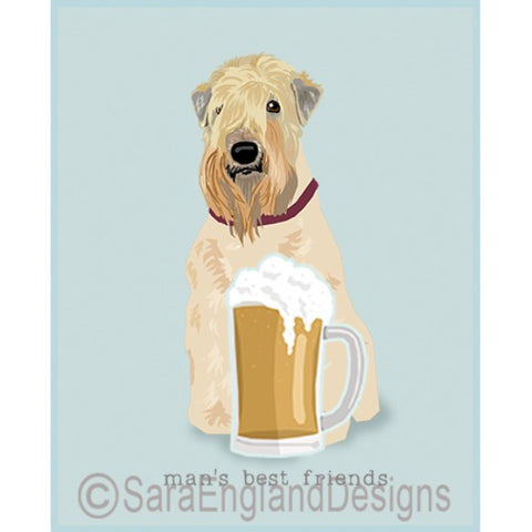 Wheaten Terrier Best Friends Prints