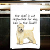 Wheaten Terrier Kitchen Tea Towel