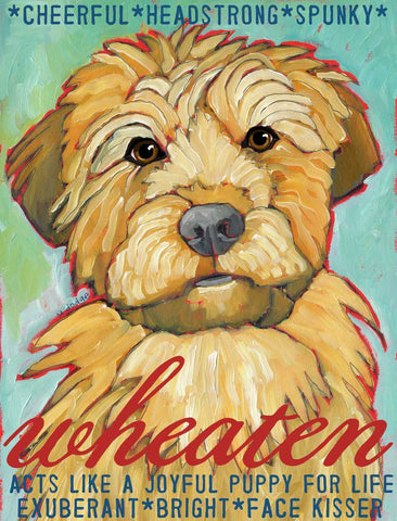 Wheaten 2 x 3 Fridge Magnet