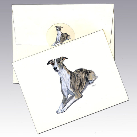 Whippet 8 Pack Notecards