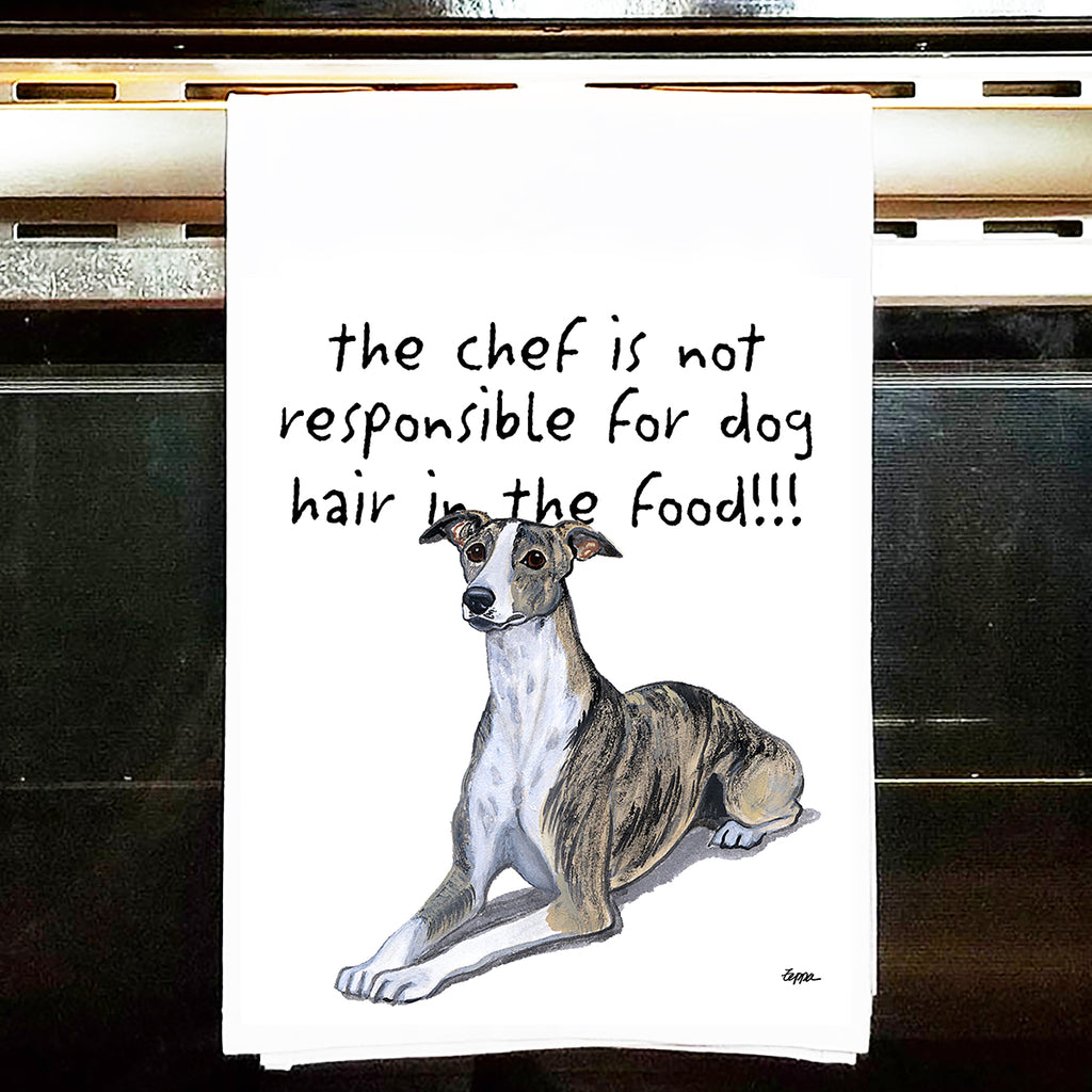 Whippet Kitchen Tea Towel