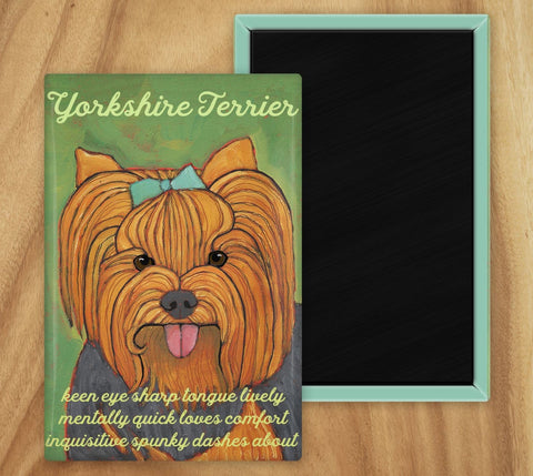 Yorkie 2 x 3 Fridge Magnet