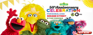 Sesame Street Personalized Books