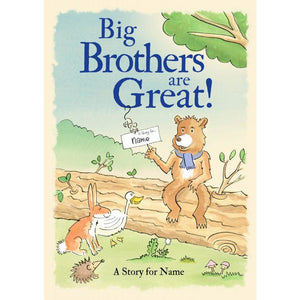 Story Time - Big Brothers Are Great