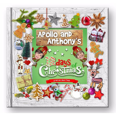 12 Days Of Christmas Storybook For THREE Stars