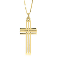 Cross - 24K Gold Plated Necklace