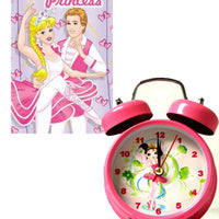 Ballerina Alarm Clock And Book Gift Set - 40/50