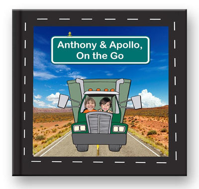 Truck Book For TWO Boys-a-40/50