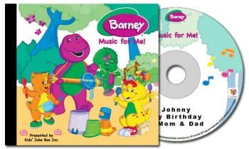 Album - Barney - Music For Me