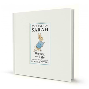 Peter Rabbit's Personalized Hopping Into Life Classic