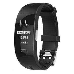Blood Pressure And Heart Rate Monitor, PPG And ECG Monitor, Accurate Fitness Tracking  Smartwatch