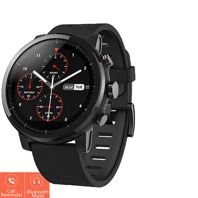 Smartwatch with GPS, PPG Heart Rate Monitor, 5 ATM Waterproof And Fitness Tracking