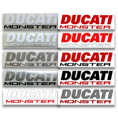 Ducati Monster Decals