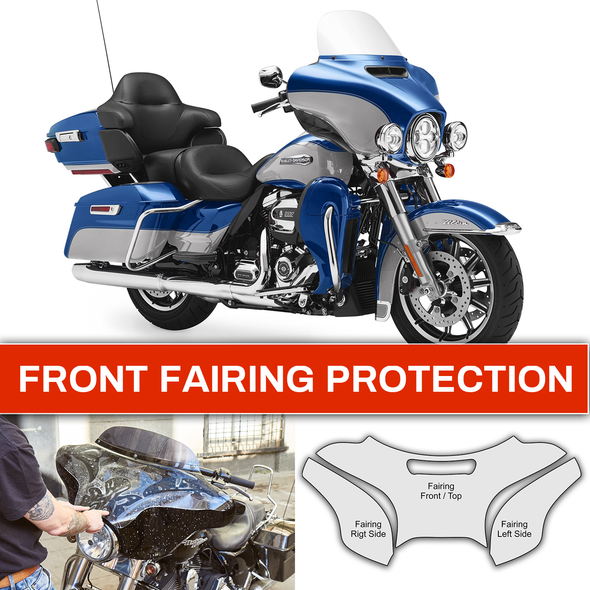Harley-Davidson paint guard kit