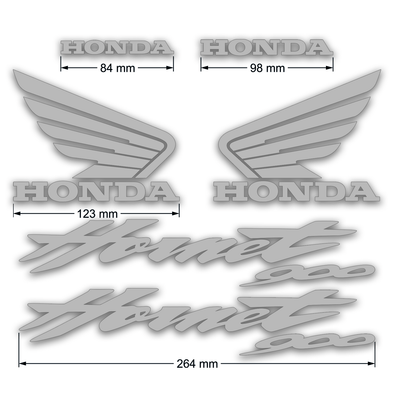 Honda CB900F decals