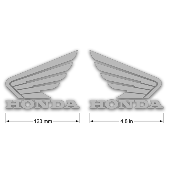 Honda wing decals