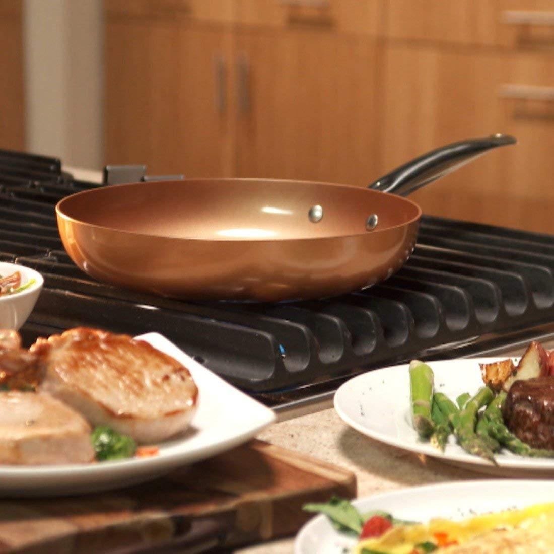 REVOLUTIONARY NONSTICK FRYING PAN