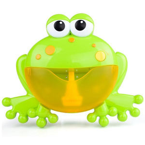 Music Frog Bubble Maker Machine