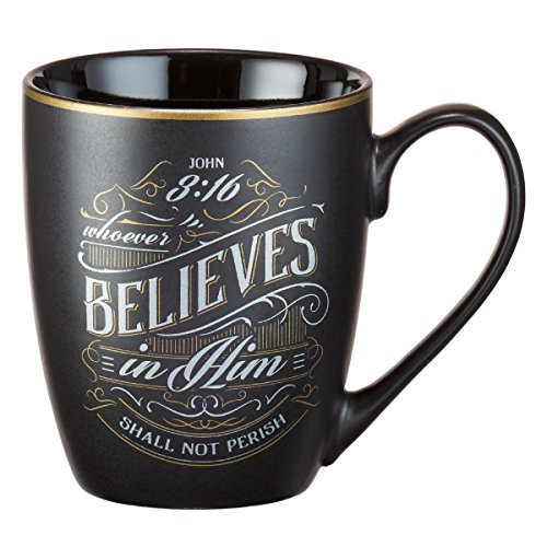 Whoever Believes in Him Coffee Mug, John 3:16
