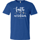 Men's Faith Can Move Mountains Tee