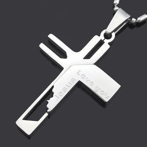 Love You Jesus Necklace
