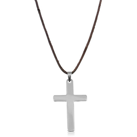 Cross On The Rope Necklace