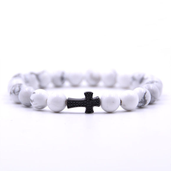 Marble Cross Bracelet - Limited Edition