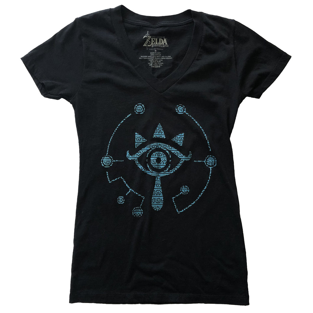 Legend of Zelda Breath of the Wild Sheikah T-Shirt - Pre-Owned