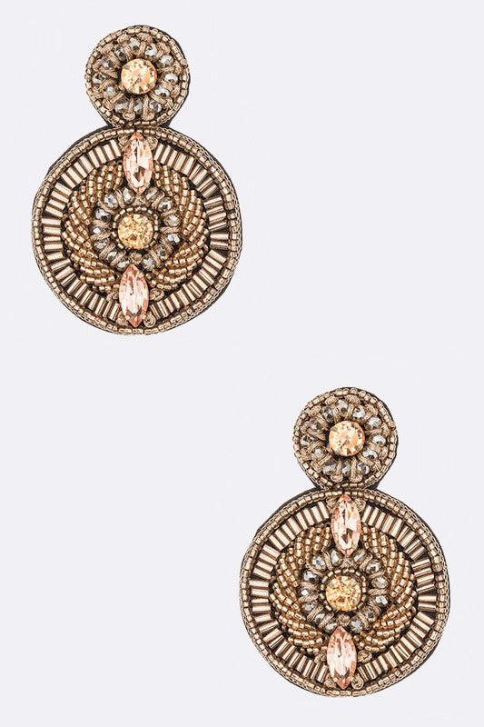 Go Glam Earrings