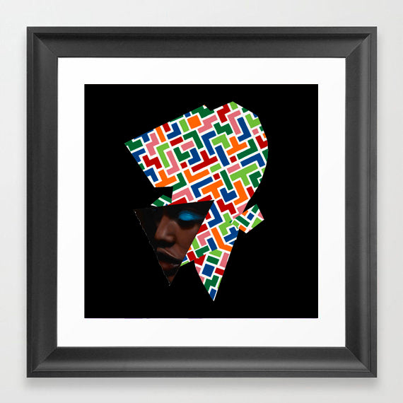 Vakseen Art - Complexities of Color - Vanity Pop - Limited Edition Giclee Art Print & Wall Decor