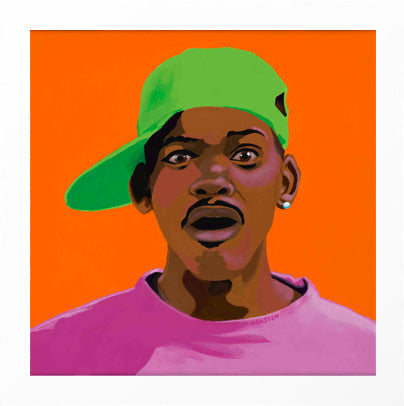 FRESHHH - Fresh Prince of Bel Air portrait art - Limited Edition Giclee Art Prints - Vakseen Art