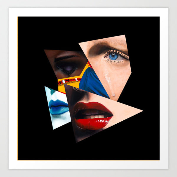 Vakseen Art - Invisible Me - Vanity Pop - Limited Edition Giclee Art Print & Wall Decor
