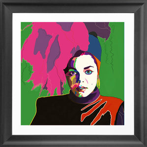 Vakseen Art - Ms Jackson If You're Nasty - Janet Jackson portrait art - Limited Edition Giclee Print