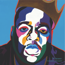 Vakseen Art - Sicker Than Yer Average - Biggie Stickers - Custom Art Stickers for Laptops & Walls