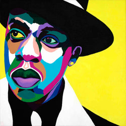 Brooklyn's Finest Jay Z portrait art - Limited Edition Giclee Print & Wall Decor