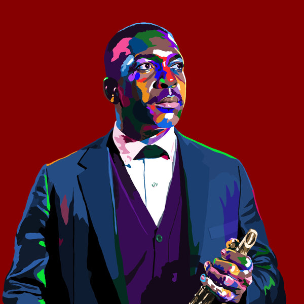 Love Supreme - John Coltrane portrait art - Limited Edition Art Print & Wall Decor - Vakseen Art