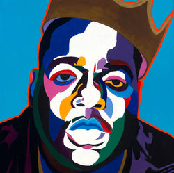 Sicker Than Yer Average Biggie portrait art - Limited Edition Giclee Art Print