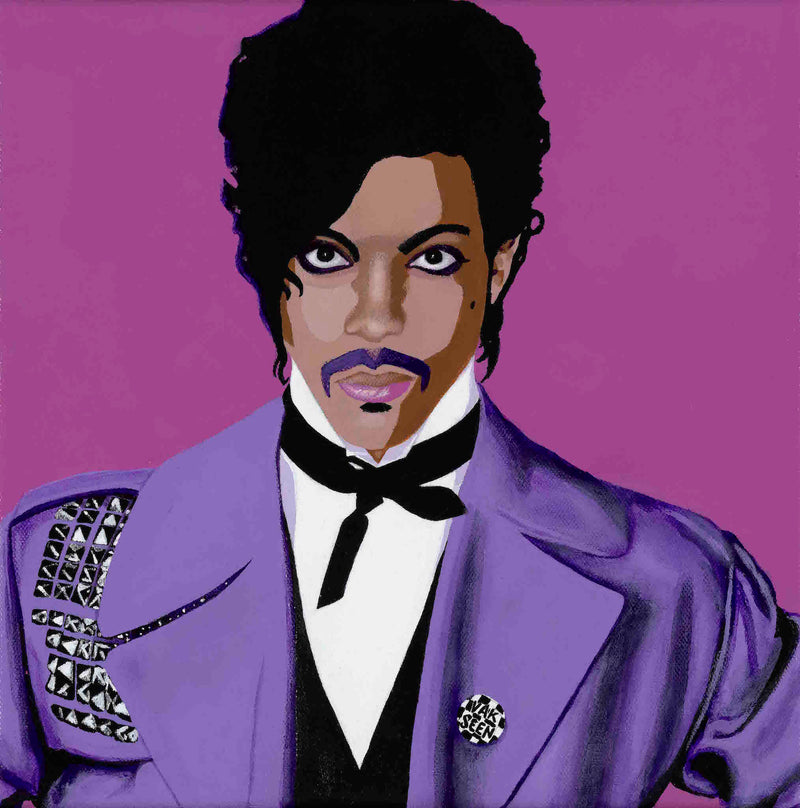 Prince portrait art - Limited Edition Giclee Art Prints & Wall Decor - Vakseen Art