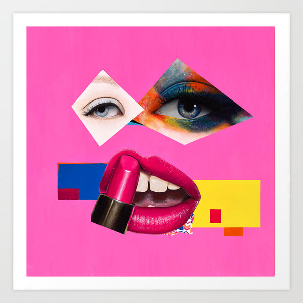 Vakseen Art - Apatetic Me - Vanity Pop - Limited Edition Giclee Art Print & Wall Decor