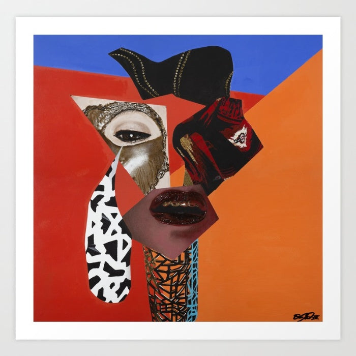 Vakseen Art - Brilliant Dope - Vanity Pop - Limited Edition Giclee Art Print & Wall Decor