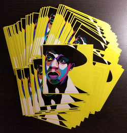 Brooklyn's Finest - Jay Z portrait art - Custom Art Stickers for Laptops & Wall Decor - Vakseen Art