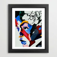 Load image into Gallery viewer, Vakseen Art - All Me - Billie Holiday portrait art - Limited Edition Giclee Print & Wall Decor