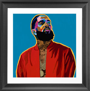 Vakseen Art - Nothin Like U - Limited Edition Nipsey Hussle Wall Art Prints for Wall Decor