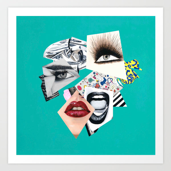 Vakseen Art - Today's the Day I Realized - Vanity Pop - Limited Edition Giclee Art Print