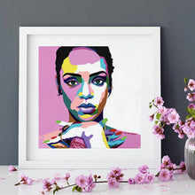 Load image into Gallery viewer, Vakseen Art - Love On The Brain - Rihanna portrait - Limited Edition Giclee Art Prints & Wall Decor