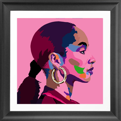 By Your Side - Sade portrait art - Limited Edition Art Print & Wall Decor - Vakseen Art