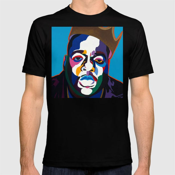 Vakseen Art - Sicker Than Yer Average - Biggie Tee Shirt - Custom Art Shirt & Apparel