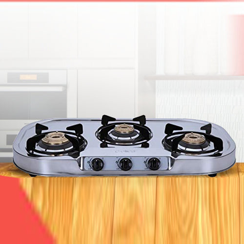 Stainless Steel Gas Stoves